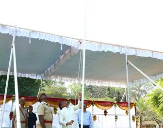 71st Republic Day celebrated at University of Hyderabad