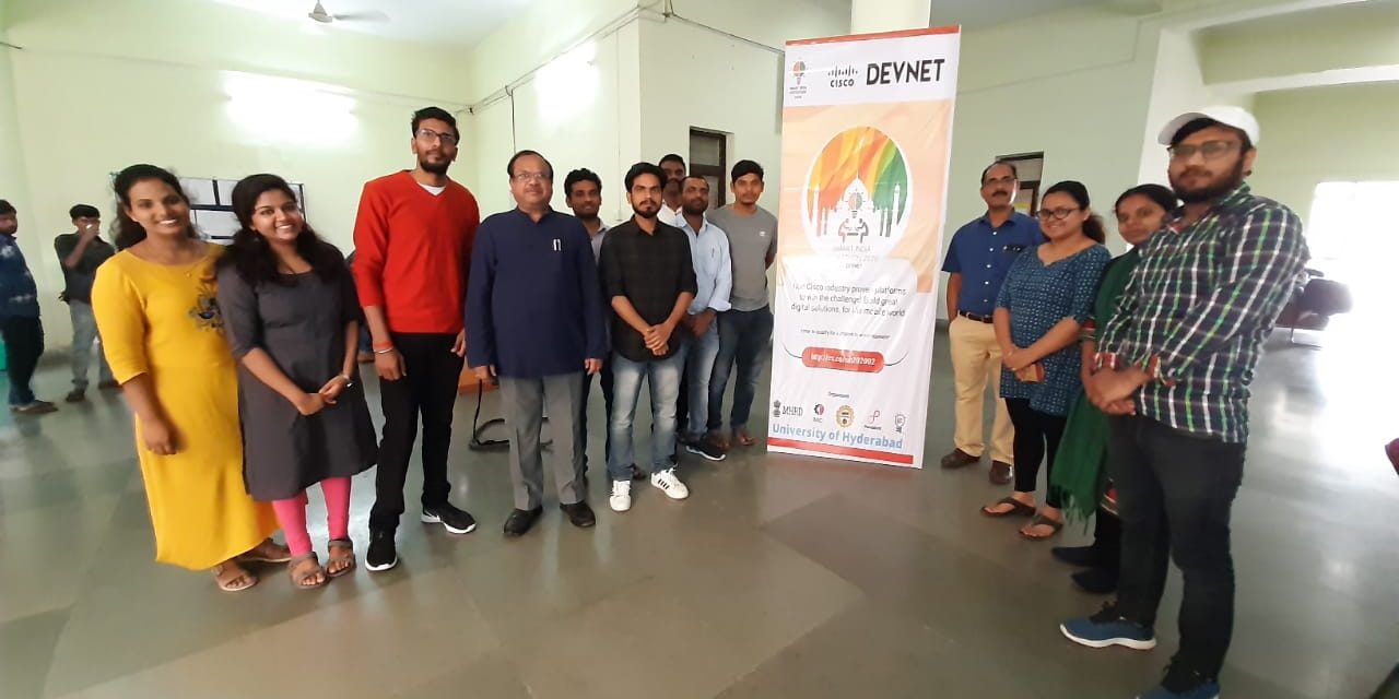 Internal Smart India Hackathon 2020 at UoH