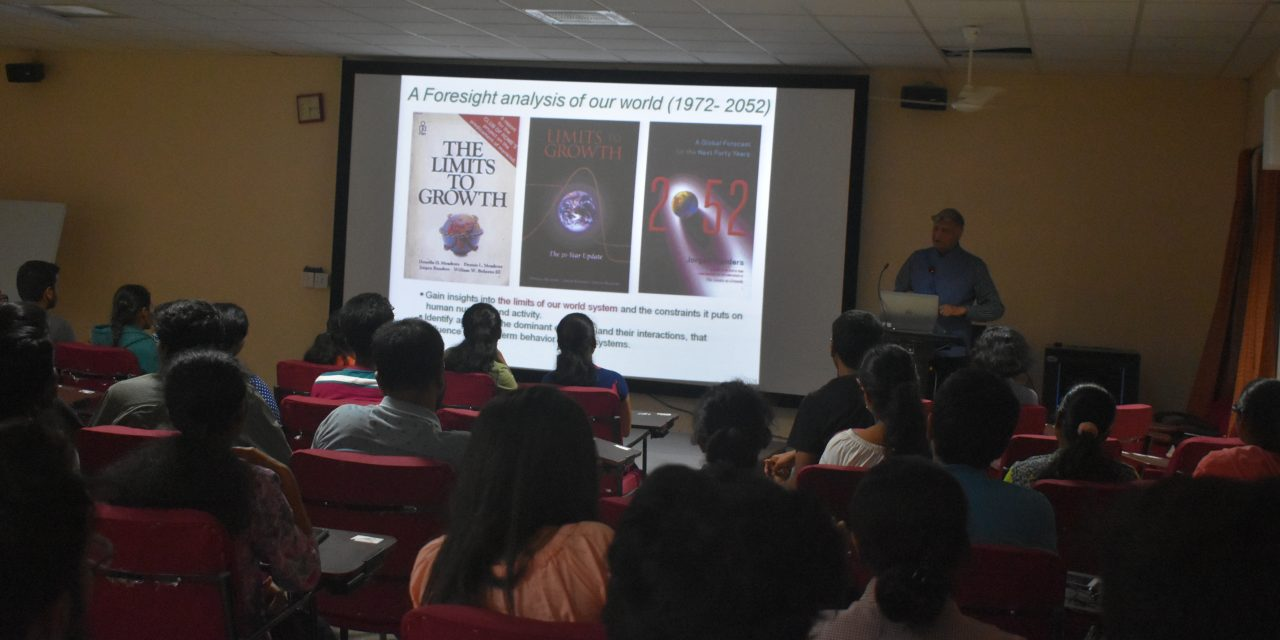 Interactive session with Prof. Goverdhan Mehta