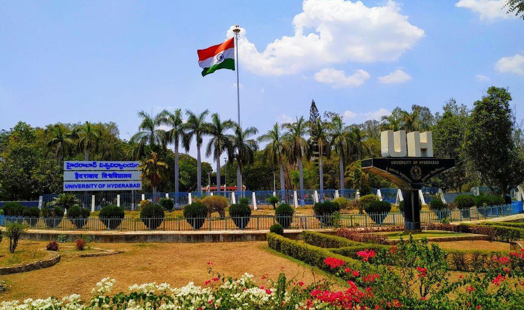 University of Hyderabad Ranked among top Universities in India