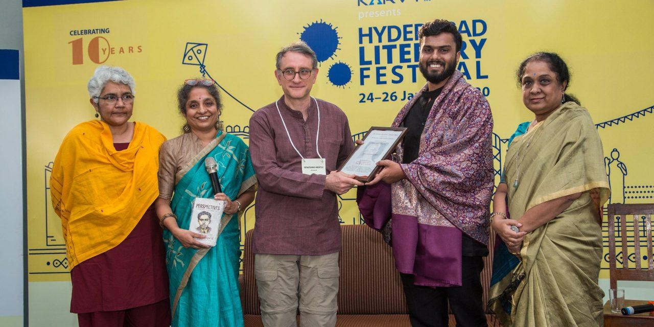 Prashant Parvataneni awarded Srinivas Rayaprol Poetry Prize 2019