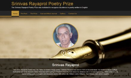 Satya Dash wins the 12th Srinivas Rayaprol Poetry Prize