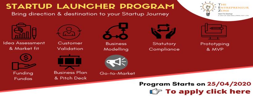Startup Launcher Program 2020