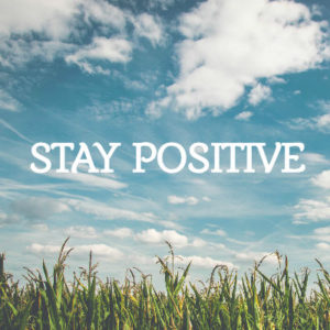 Staying Positive during COVID 19 crisis