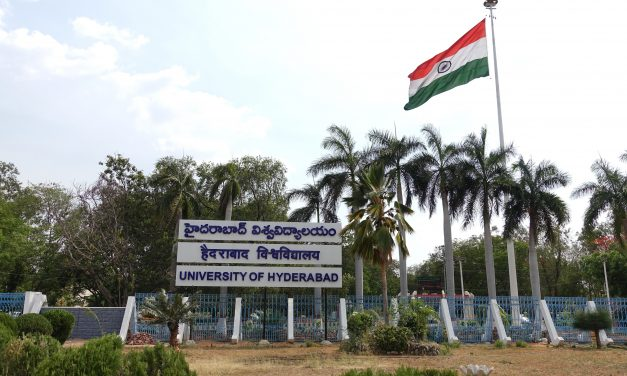 UoH is No. 2 among Top 25 Central Universities in India for year 2020