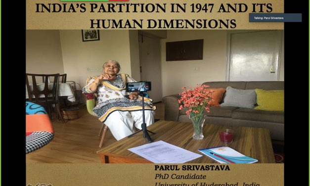 India's Partition in 1947 and its Human Dimensions