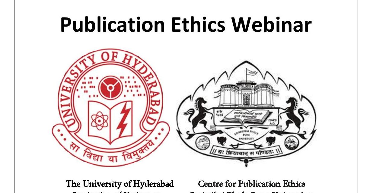 Webinar on Publication Ethics