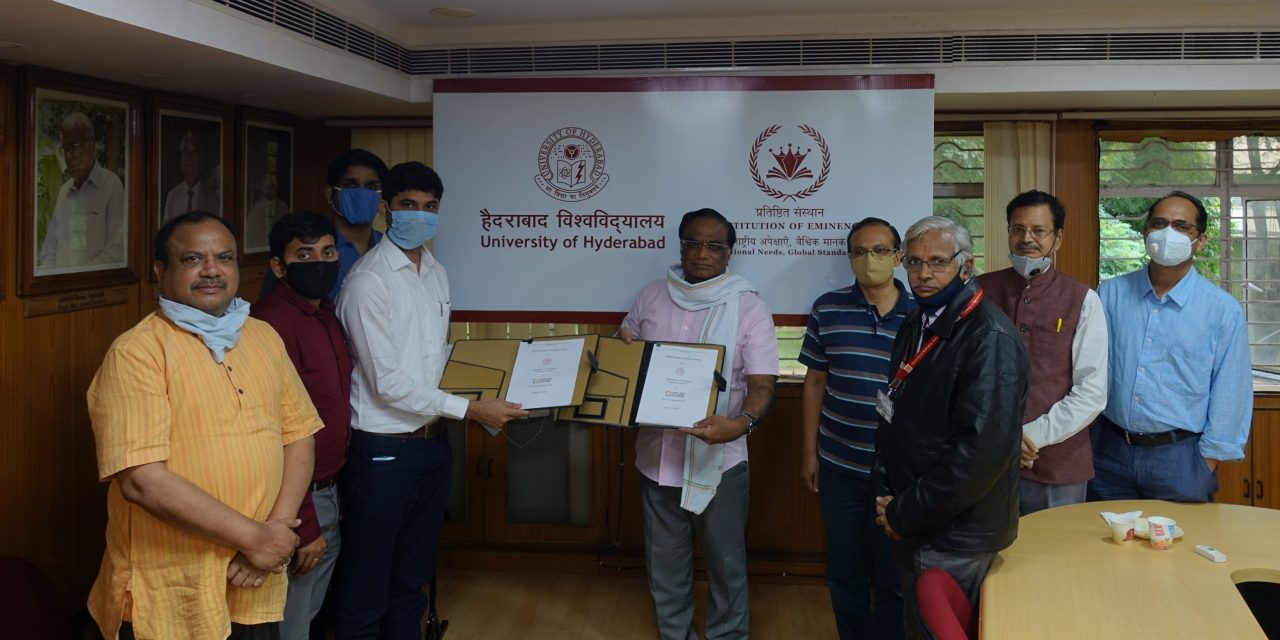 UoH ties up with AAIC technologies to offer P.G. Diploma Course in 'Artificial Intelligence and Machine Learning' (PGDAI&ML)