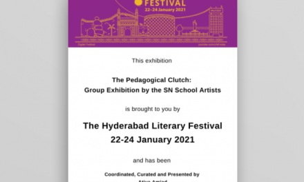 """The Pedagogical Clutch: Group Exhibition by the S N School Artists"""