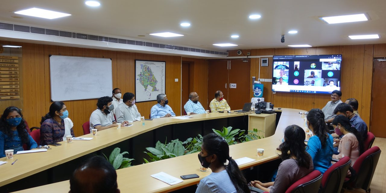 Fellowships Disbursed to the first 9 Prime Minister's Research Fellows at UoH