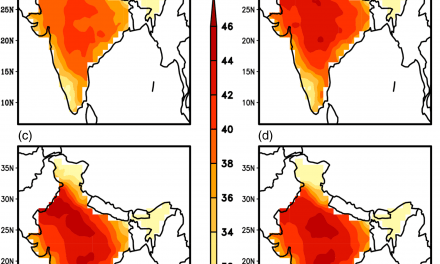 Recent Arctic warming induces deadly Indian heatwaves