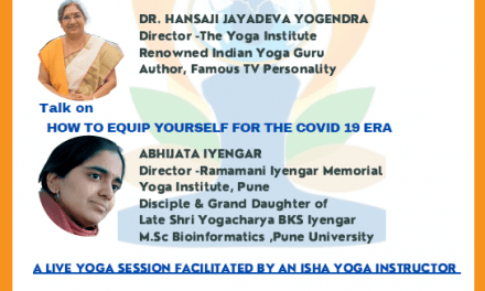 Virtual Talks on the occasion of International Day of Yoga
