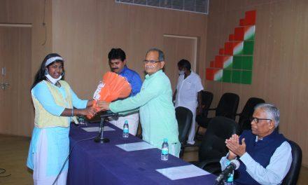 हैदराबाद विश्वविद्यालय में हिंदी दिवस समारोह