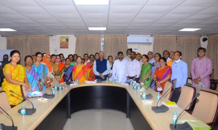 In-Service Training to UH Campus School Teachers organized by DEET