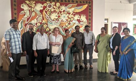 Delegation from UNB, Canada