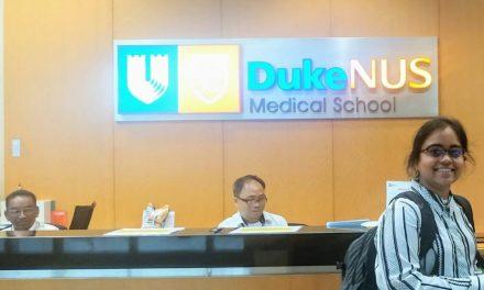 Ms. Ramalakshmi selected for Duke-NUS Graduate Medical School