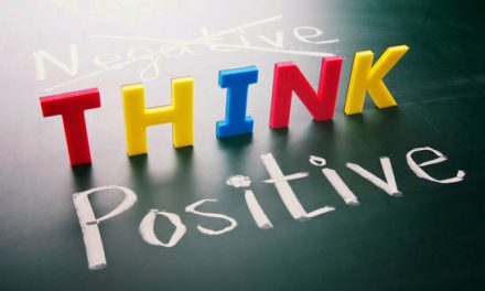 Think positive and stay strong