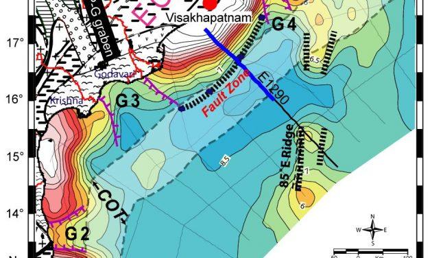 कृष्णा-गोदावरी तटवर्ती बेसिन में एक लंबी खंडित रेखा – उत्तरी आंध्र प्रदेश के लिए एक प्रमुख तटीय खतरा