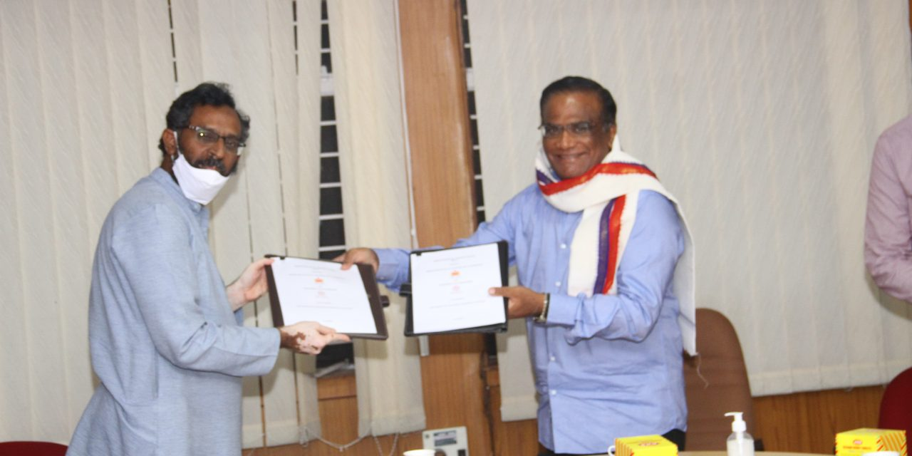 UoH and IIT-H enter into MoU for Collaborative Teaching & Research Activities