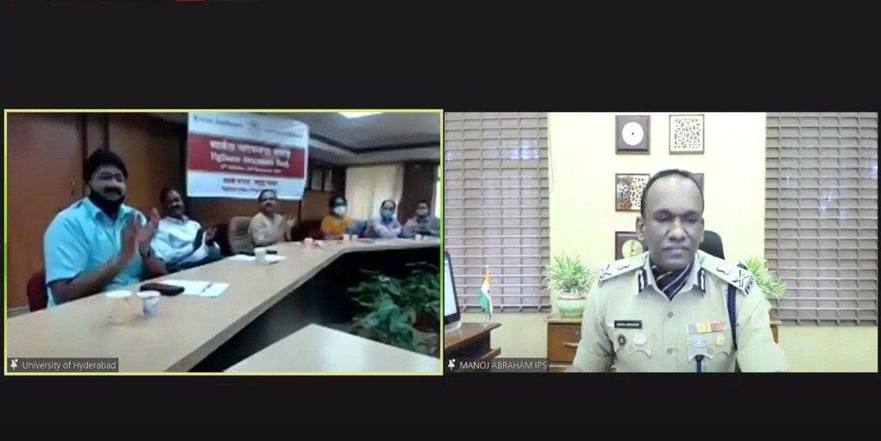"""""""Honesty is still the best policy,"""" reiterates Manoj Abraham IPS"""