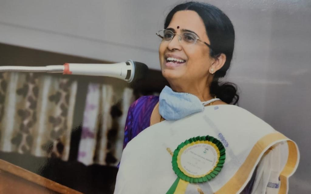 Bharathi Harishankar, alumnus of English at UoH elected Fellow of the Royal Society of Arts