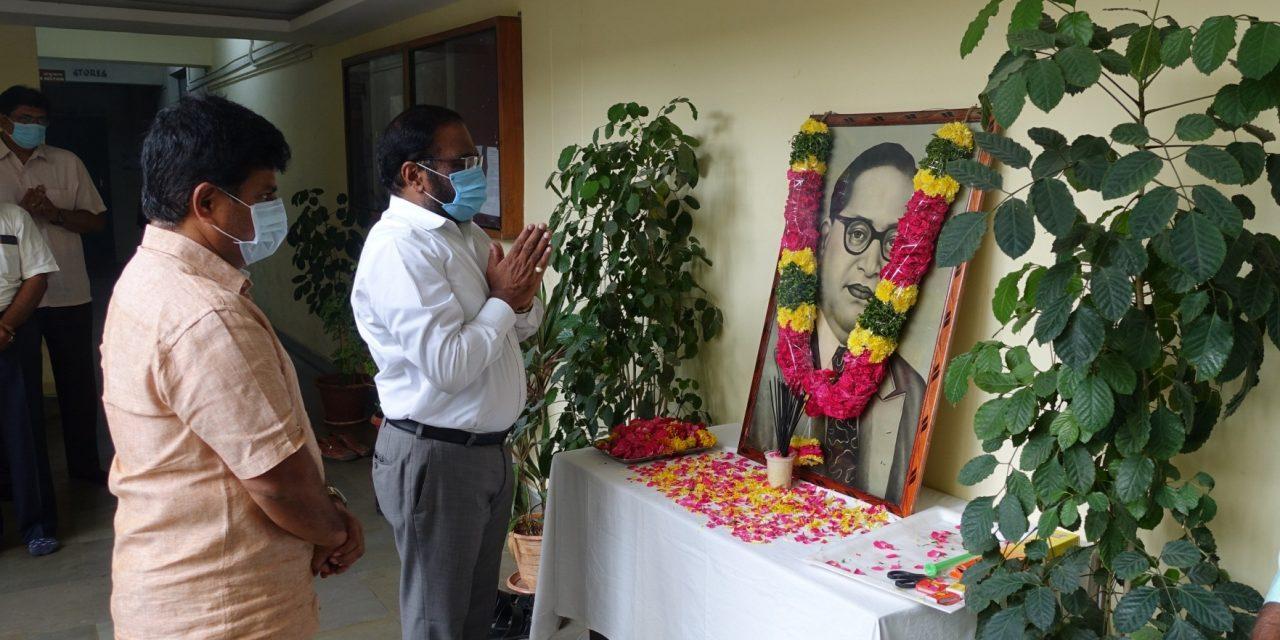 Dr. BR Ambedkar's Jayanti celebrated