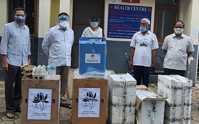 Sunyatee International Foundation donates Oxygen Concentrators to UoH