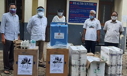 Sunyatee International Foundation donates Oxygen Concentrators to UoH