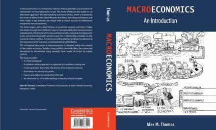 UoH Alumnus Dr. Alex M. Thomas publishes book titled Macroeconomics: An Introduction