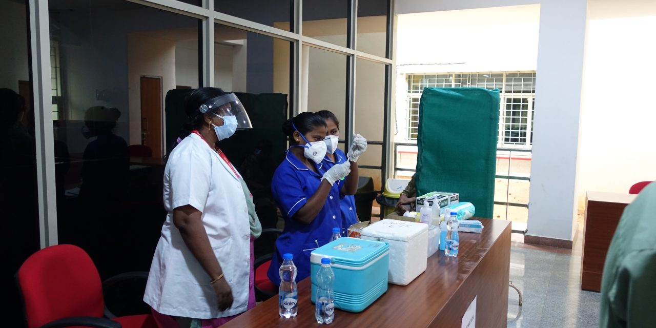 Second vaccination camp at UoH