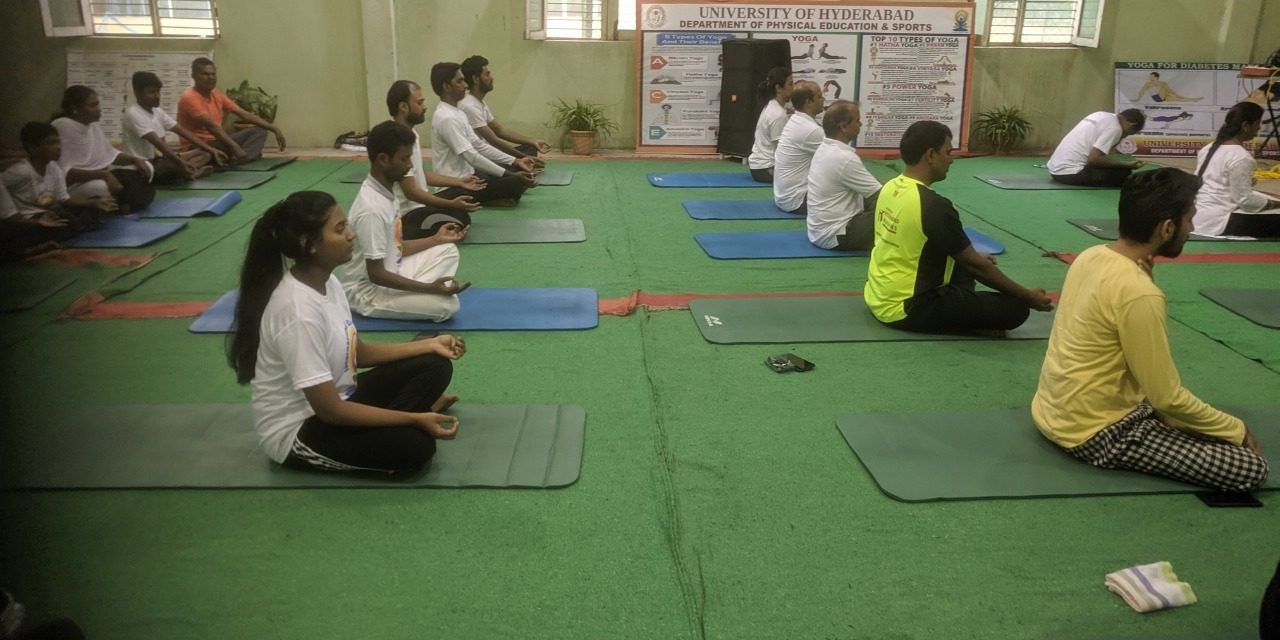 International Day of Yoga celebrated