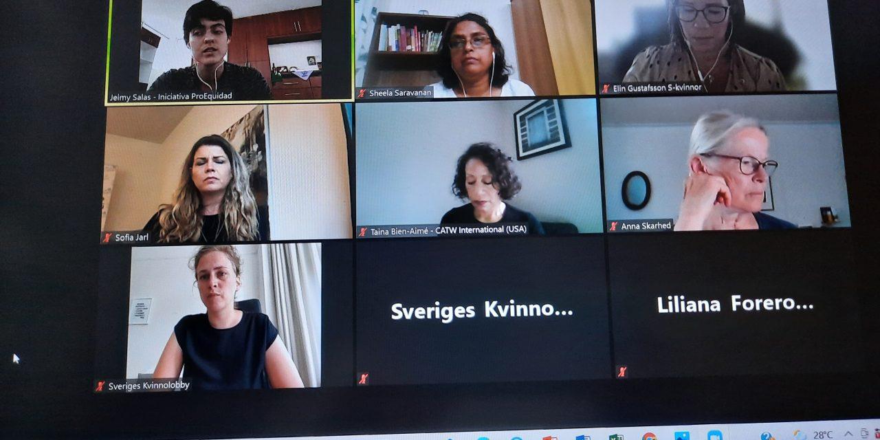 सरोगेट मातृत्व के उन्मूलन पर संपन्न अंतर्राष्ट्रीय सम्मेलन में डॉ. शीला सूर्यनारायणन का वक्तव्य