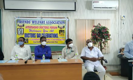 Doctors' Day Celebrated