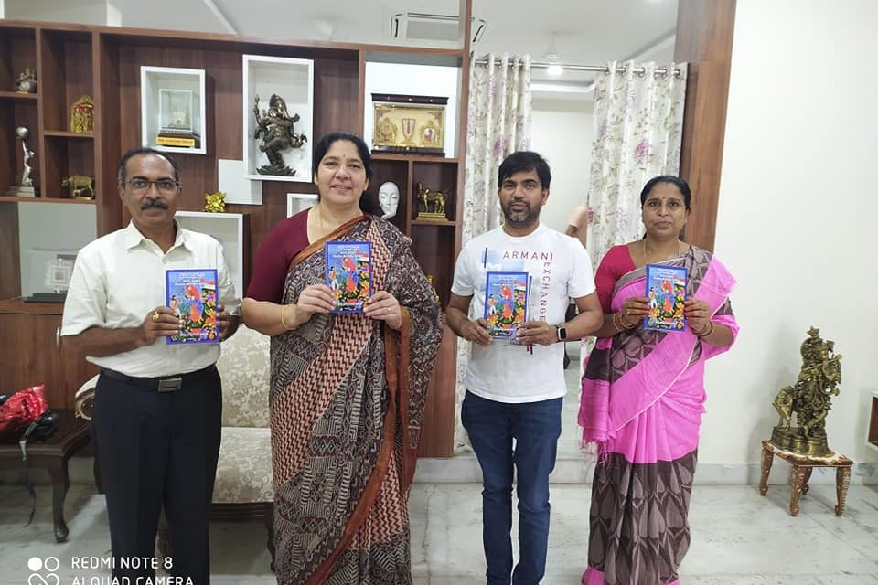 """Tribal Welfare Minister of Telangana State Releases book on """"Democracy, Development and Tribal Underdevelopment"""" authored by Prof. Ramdas Rupavath"""