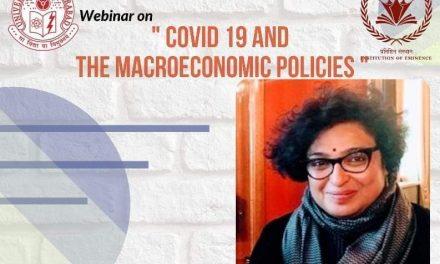 COVID-19 and Macroeconomic Policies